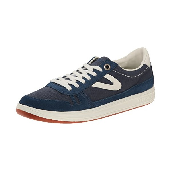 Tretorn Men's Rodlera Canvas Fashion Sneaker, Moroccan Blue, 11.5 D US