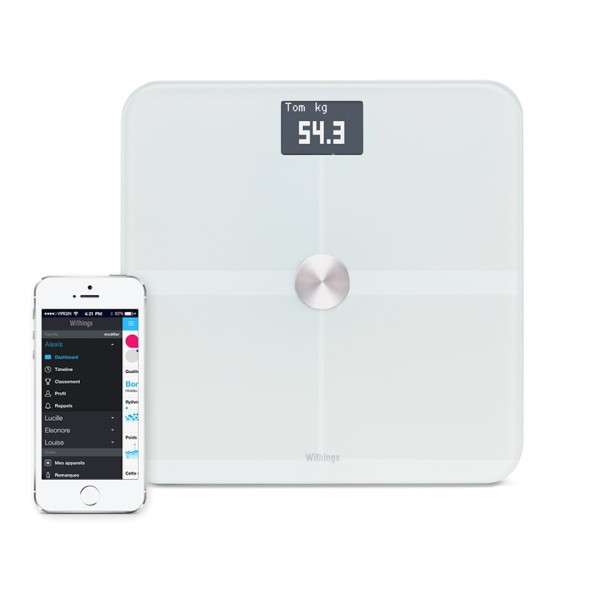 Withings Smart Body Analyzer, White