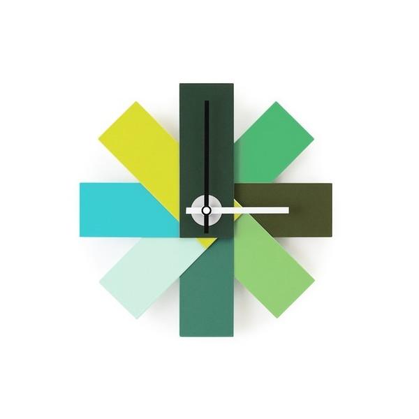 """Normann Copenhagen Watch Me Wall Clock, Green 11"""""""