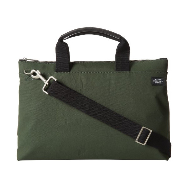 Jack Spade New Document Briefcase,Green,One Size