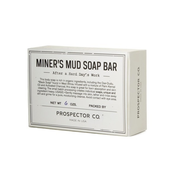 Prospector Co Miner's Mud Soap Bar (170g)