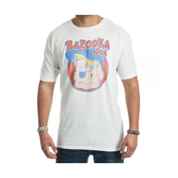 Bazooka Joe Bubble Gum T-Shirt Small White