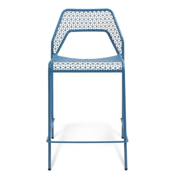 Blu Dot Hot Mesh Counterstool, Simple Blue