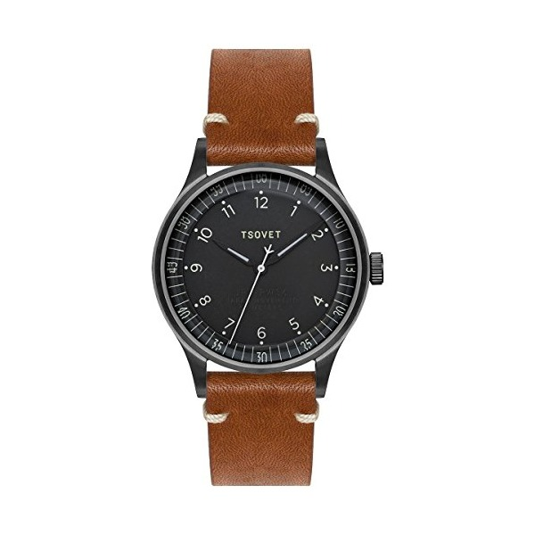 Tsovet JPT-PW36 Watch Gunmetal/Black/Rouille, One Size