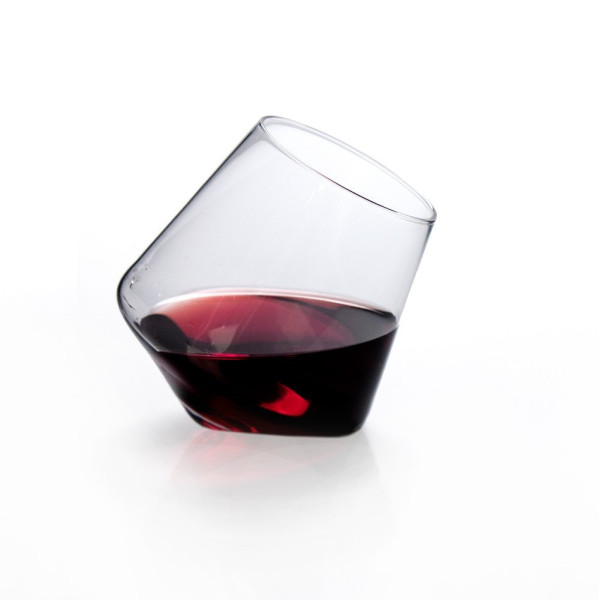 Sempli Set of 2 Cupa Wine Hand Blown Glasses