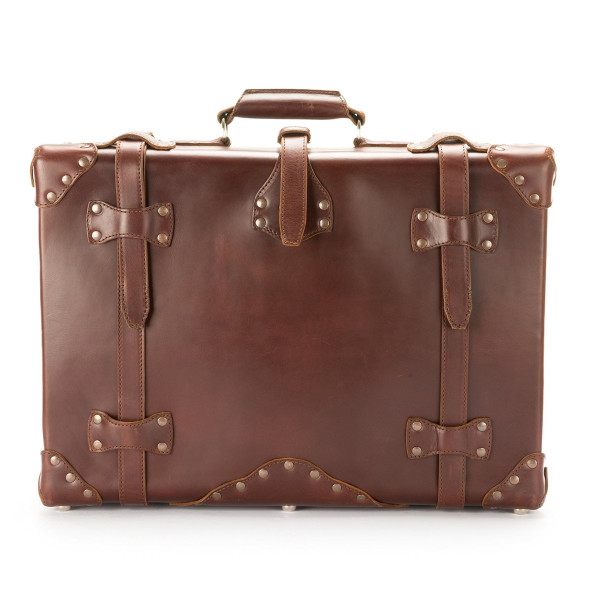 Saddleback Leather Small Suitcase, Chestnut
