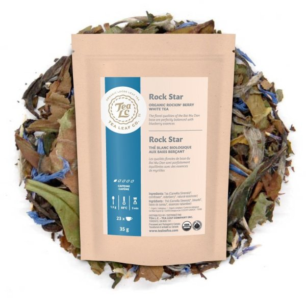 ROCK STAR | Organic Rockin' Berry Loose Leaf White Tea