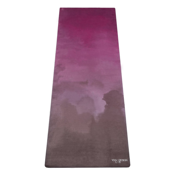 The Combo Mat (TRAVEL VERSION). All-In-One Lightweight Mat/Towel Designed for Bikram, Hot Yoga, Pilates, or Sweaty Practice. Eco-Friendly Materials. Two Products in One. Foldable. No More Slipping With Sweat. Machine Washable. Includes Carrying Strap. Mon