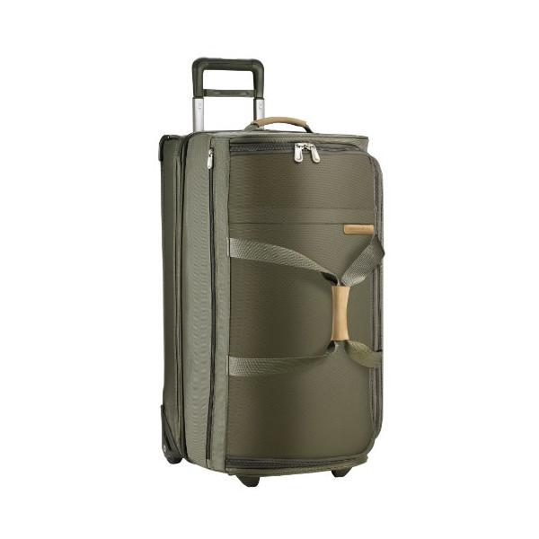 Briggs & Riley @ Baseline Luggage Baseline Upright Tough Duffle Bag, Olive, Large