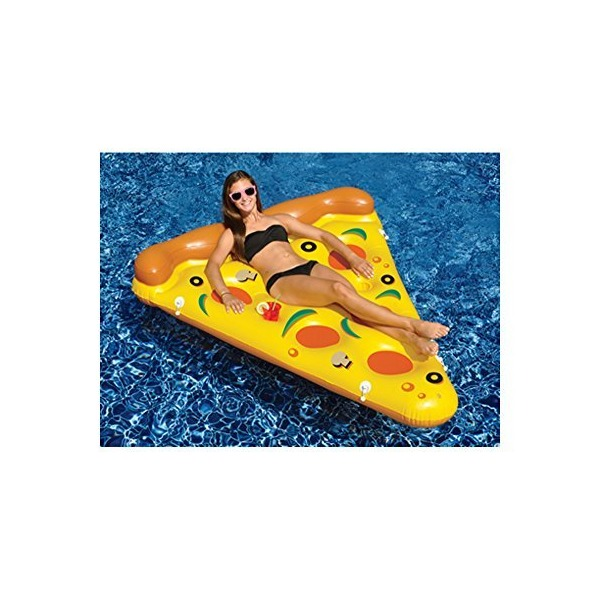 Swimline 90645 - 6-Foot By 5-Foot Giant Inflatable Pizza Slice