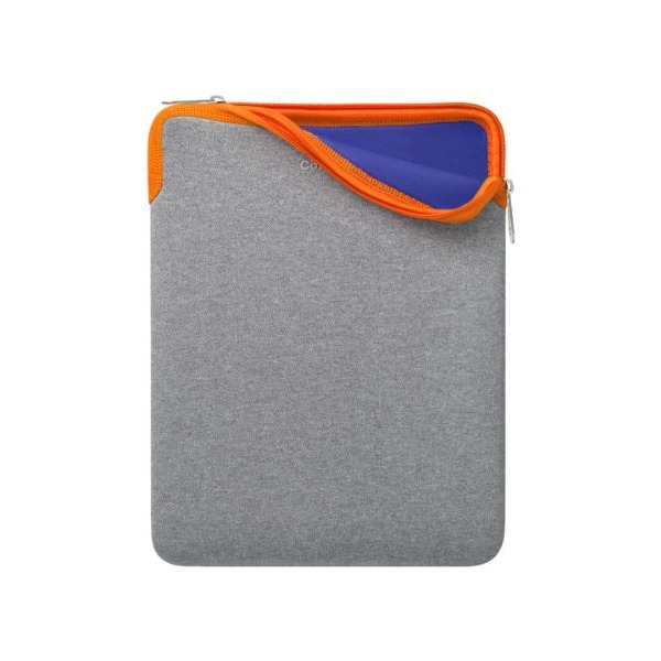 Cote&Ciel Zippered Sleeve iPads, Grau/Orange/Blau
