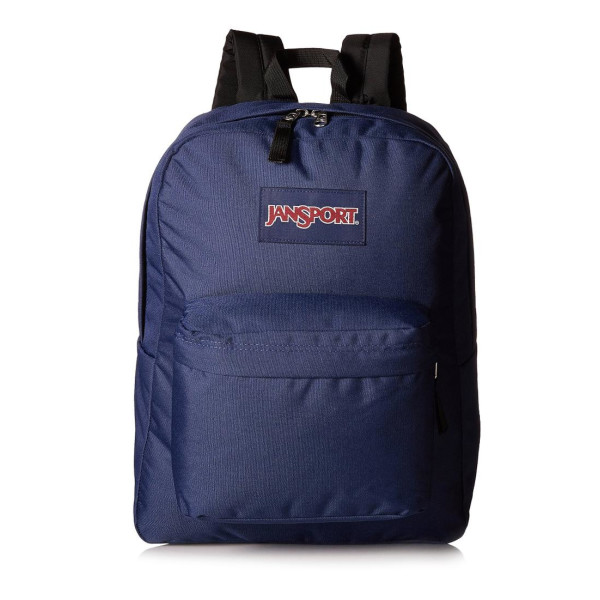 Jansport Superbreak 1550 Cu. In. Classic Backpack, Navy