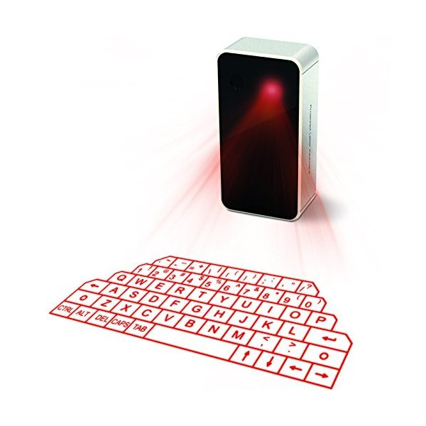 AGS Wireless Laser Projection Bluetooth Vitual Keyboard for Iphone, Ipad, Smartphone and Tablets