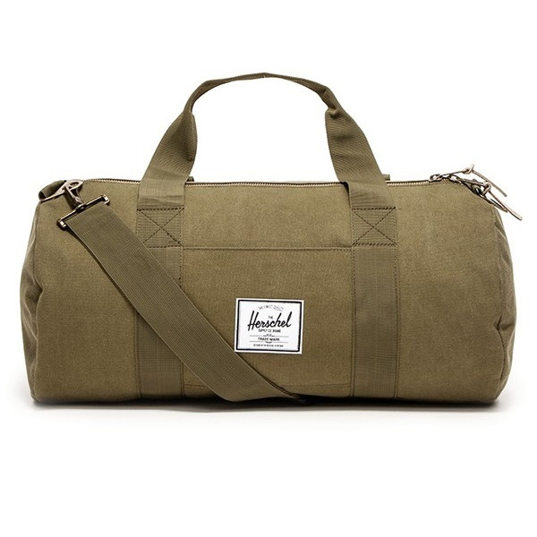 Herschel Supply Co. Sutton Canvas Duffle, Washed Army