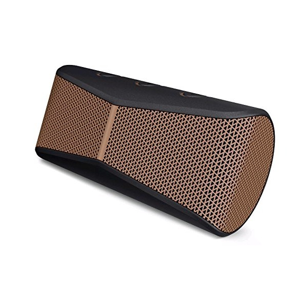 Logitech X300 Mobile Wireless Stereo Speaker, Copper Black (984-000392)