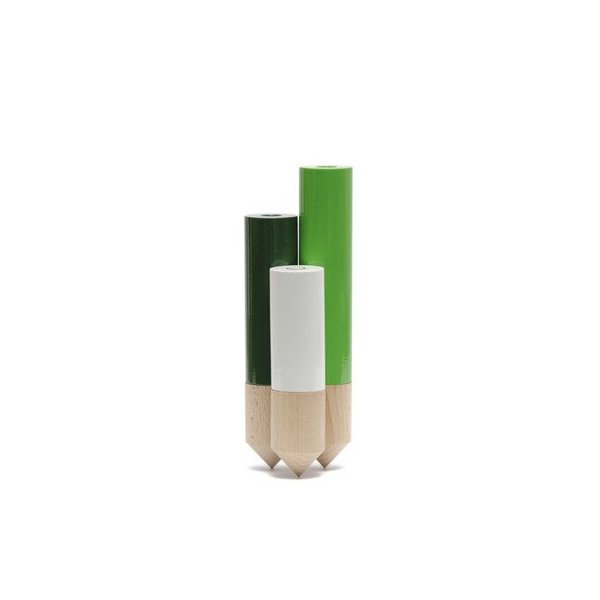 PIK Vase Color: Green