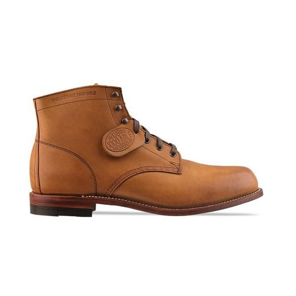Wolverine 1000 Mile Men's Plain Toe Rugged Boot