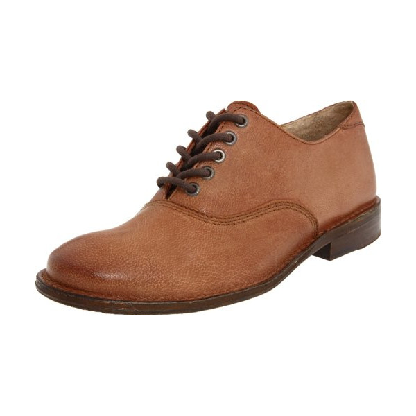 FRYE Women's Paige Oxford,Cognac,9.5 M US