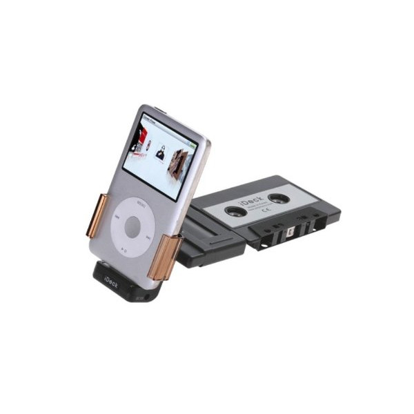 iDeck Integrated Car Cassette Adapter for iPod