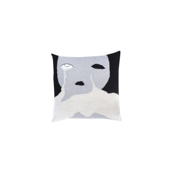 Cry Baby Pillow Case (Black)
