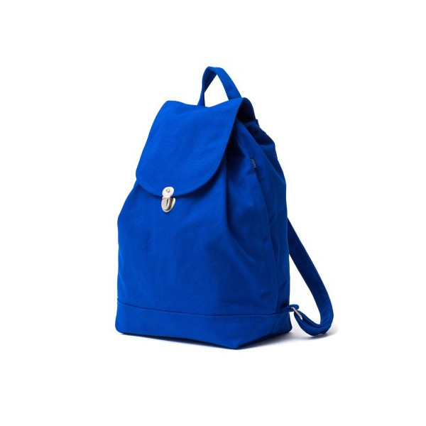 BAGGU Backpack Everyday Canvas Daypack Royal Blue
