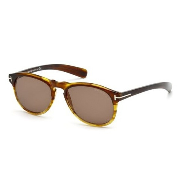 Tom Ford Flynn Havana Frame, Brown Lens