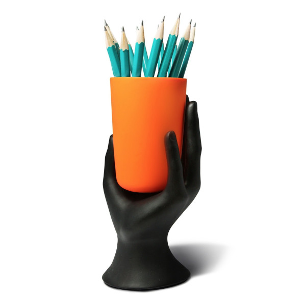 Hand Cup Pen Pencil Holder