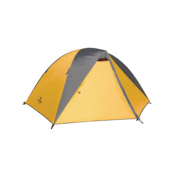 "TETON Sports Mountain Ultra 2 Man Tent, (82.5"" x 63"" x 45"", 4.75 lbs, Orange/Grey)"