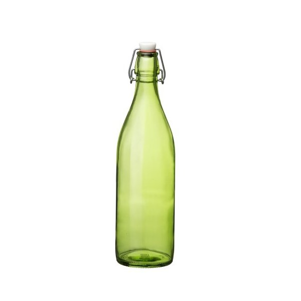 Bormioli Rocco Giara Bottle, Green