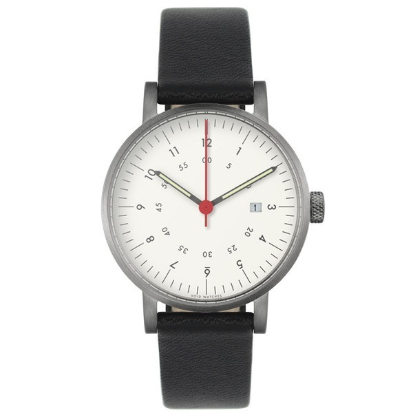 VOID V03D Watch, Brushed/White