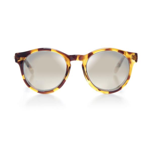 Le Specs Hey Macarena Wayfarer Sunglasses, Syrup/Tortoise, 55 mm