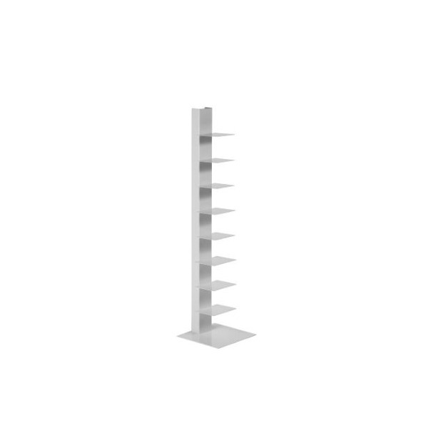 Rainaldi Style Sapien Style Standing Bookcase Tower 48'' Height (White)