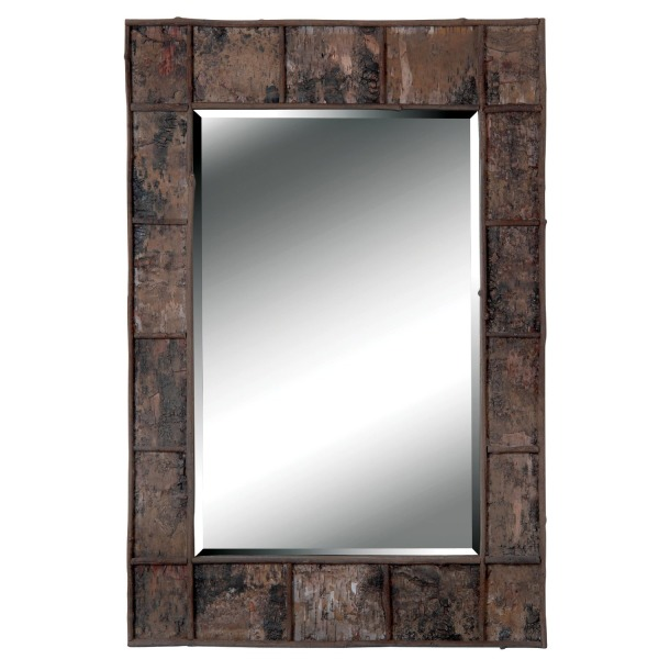 Kenroy Home 61002 Birch Bark Wall Mirror