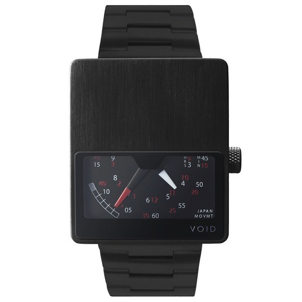 Void V02 Retrograde Mens Watch, Black