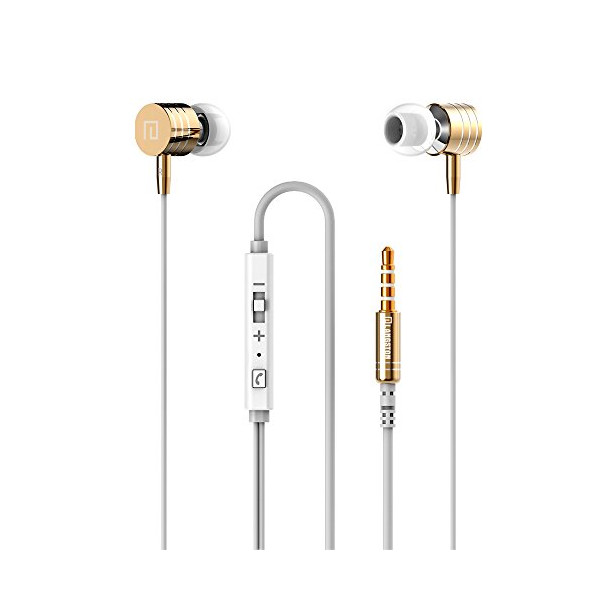 Langston® Genuine Universal In-Ear 3.5mm Plug Earphones Earbuds EarPods for Apple iPhone 6 6 Plus 5S 5C 5 4S 4 3 iPad Air mini2 mini 4 3 2 iPod Touch 5th iPod Nano 7th Samsung Galaxy S5 S4 mini S3 S3 mini Note 4 Edge Note 3 Note 2 LG G3 G2 HTC One M8 M7 M