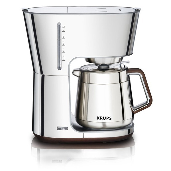 Krups Silver Art Collection Coffee Maker, Stainless Steel