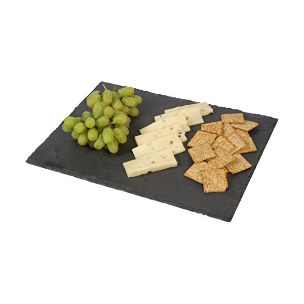 Slate Cheese Board and Serving Tray by Trademark Innovations