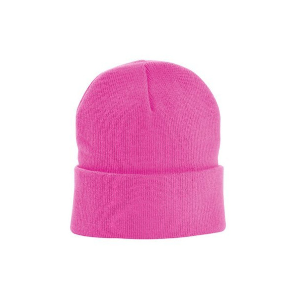 Neon Knit Winter Beanie Hat Cap