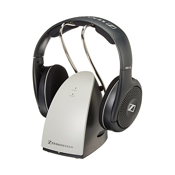 Sennheiser RS120 On-Ear Wireless RF Headphones with Charging Dock