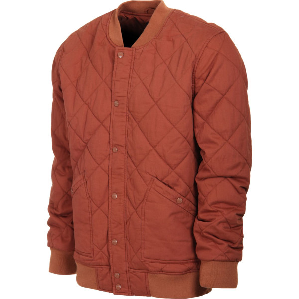 Brixton Men's Ace Jacket, Rust