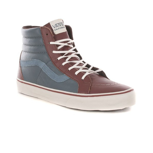 Vans Mens Sk8-Hi Reissue Leather Ca Andorra Vn-0kxj55p 8