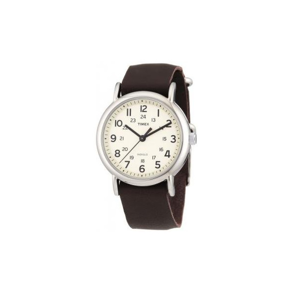 Timex Weekender Slip Thru - Brown Leather
