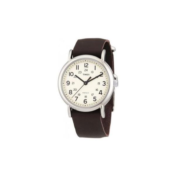 Timex Weekender Slip Thru - Brown Leather
