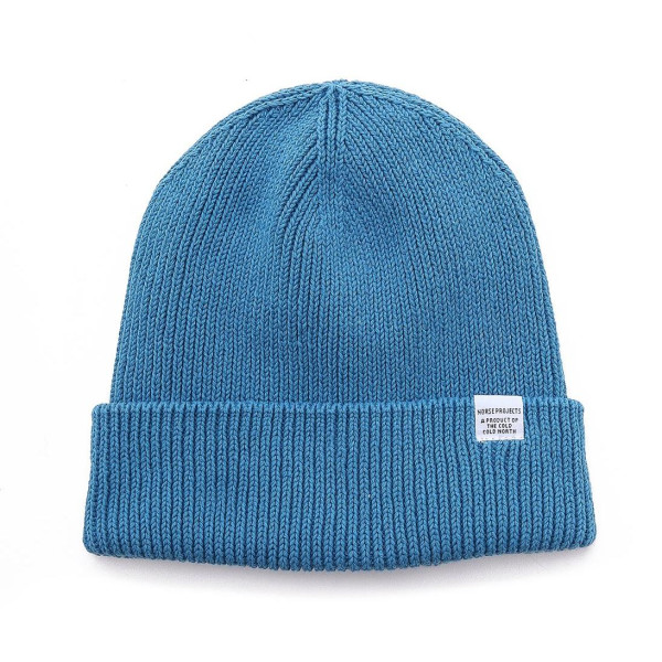 Norse Projects Men's Cotton Watch Beanie, Poolside
