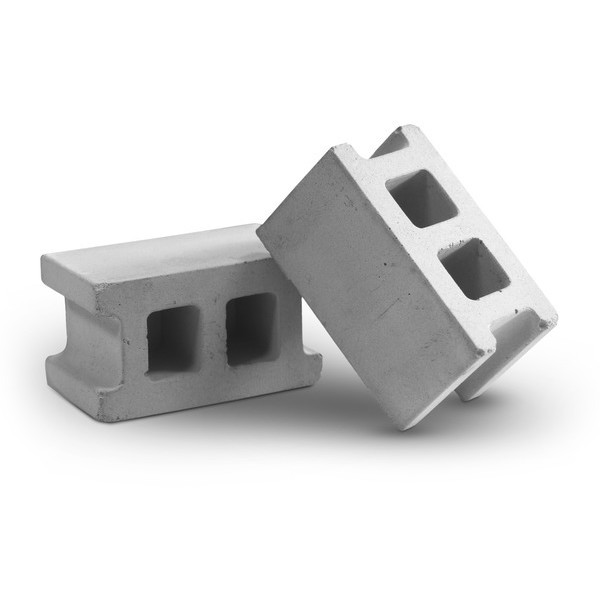 MollaSpace Concrete Block Magnet, Set of 4