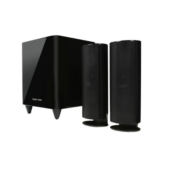 Harman Kardon HKTS 200BQ 2.1 Home Theater Speaker System (Black)