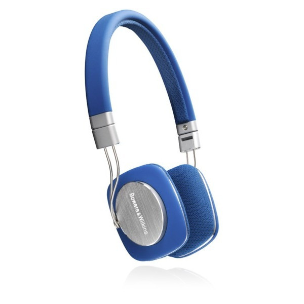 Bowers & Wilkins P3 Headphones, Blue/Grey