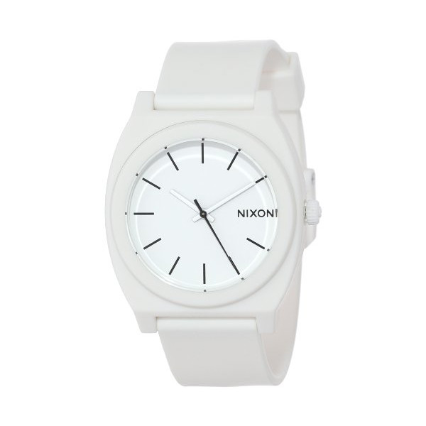 Nixon Time Teller P Clock matt white one size
