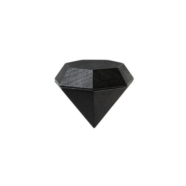 Areaware Diamond Box, Black