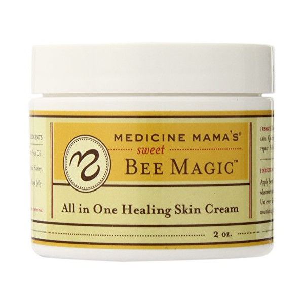 Medicine Mama's Apothecary Sweet Bee Magic All in One Healing Skin Cream, 6 Ounce